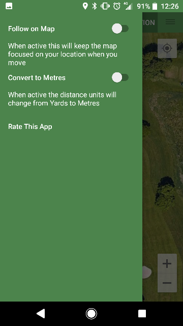 Simple Golf GPS Screenshot 2